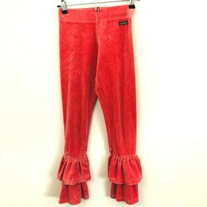 MATILDA JANE Velour Ruffle Pants 12